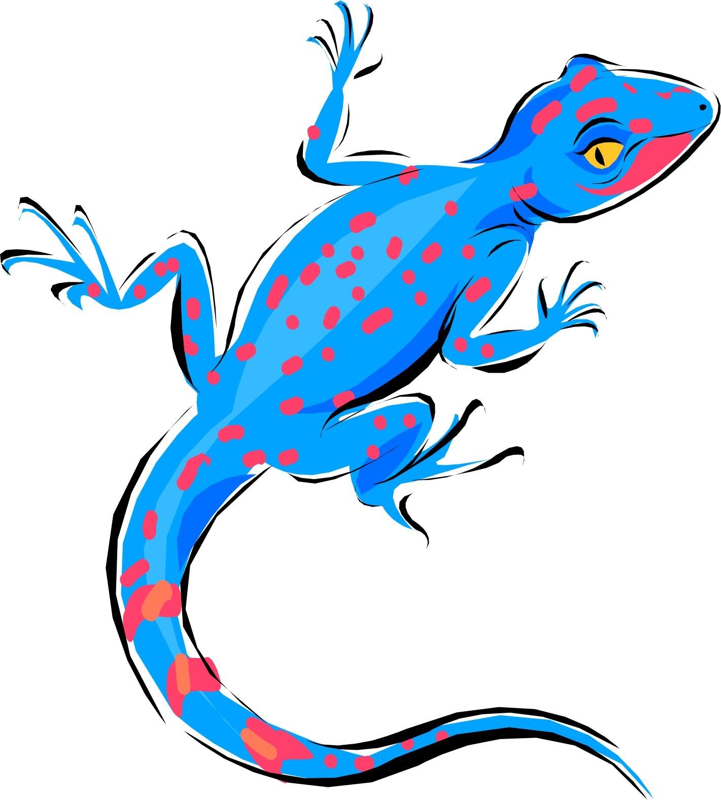 Lizard Clipart Ecmablkcn Jpeg