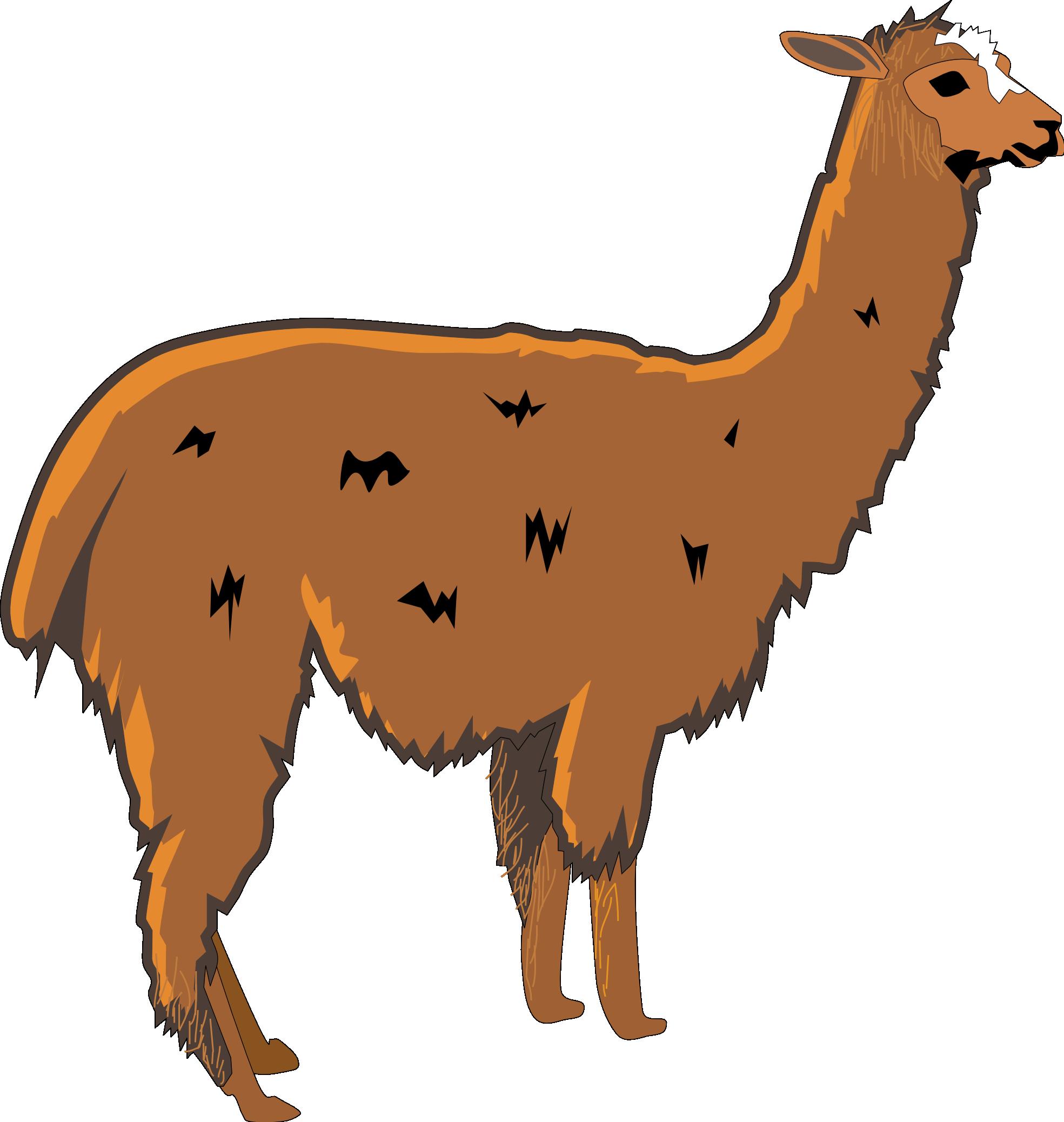 Llama Clip Art-Llama Clip Art-9