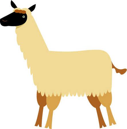 Llama Clipart-Llama Clipart-16