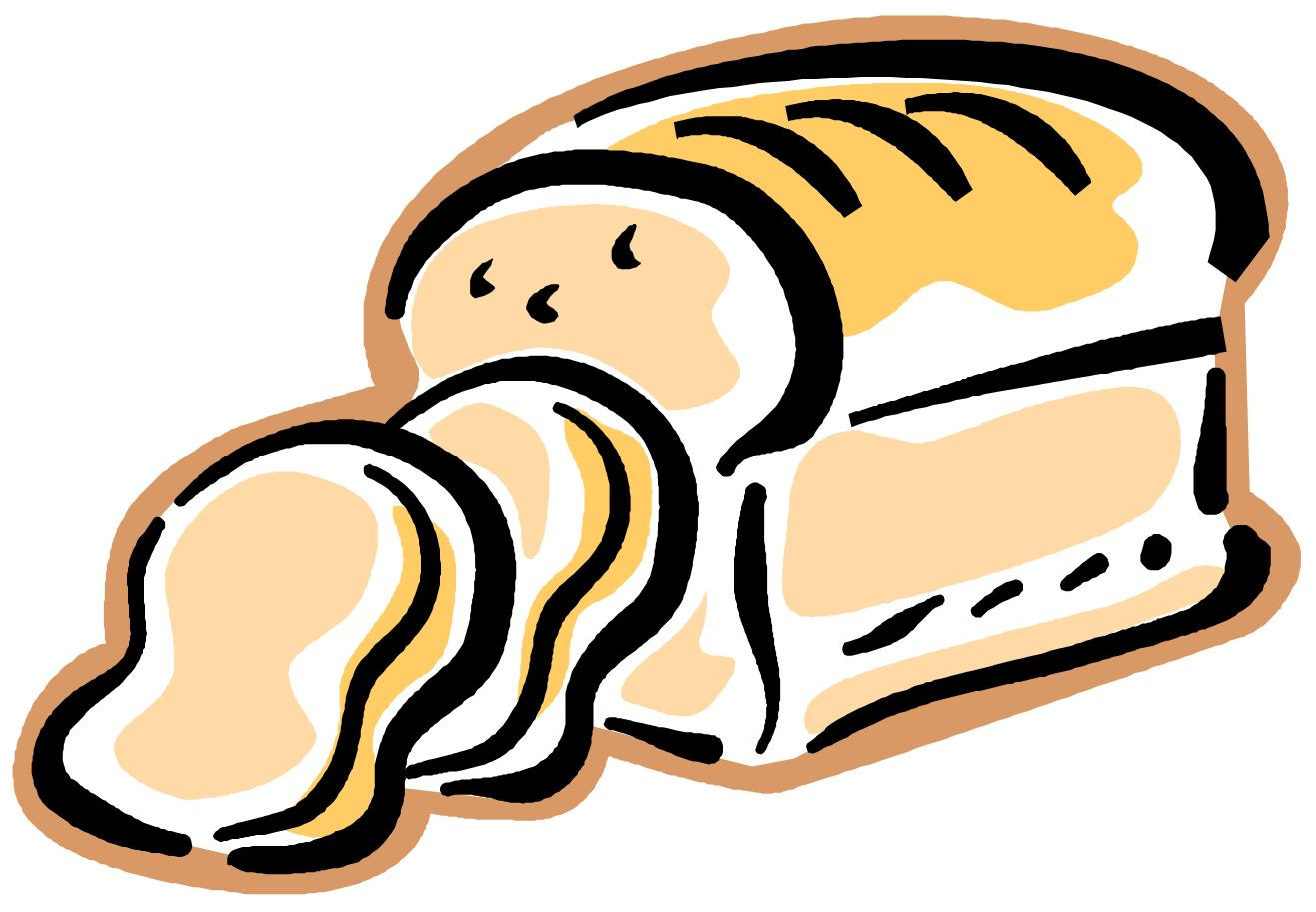 Loaf of bread bread clipart and illustration bread clip art vector - Clipartix