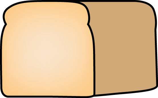 Loaf Of Bread - Clip Art Image Of A Loaf-Loaf of Bread - clip art image of a loaf of fresh homemade bread-12
