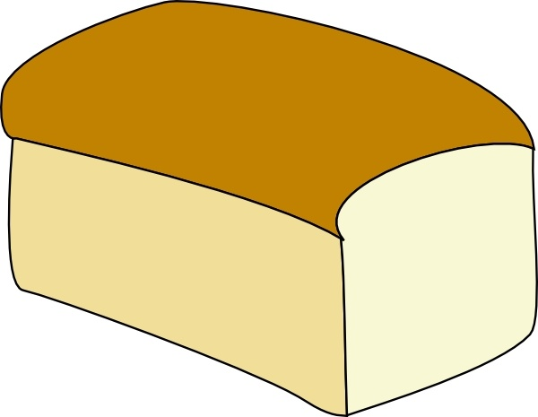 Loaf Of Bread Clip Art-Loaf Of Bread clip art-14