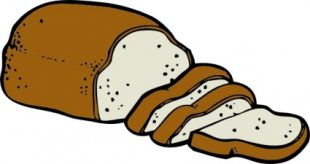 Loaf Of Bread clip art, thumb