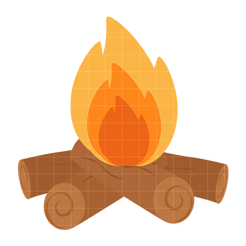 Log Fire Clipart Clipart Panda Free Clipart Images