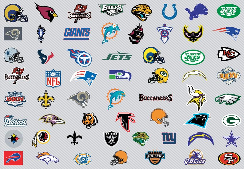 Logos Vectors - 39. Page - Nfl Logos Clip Art