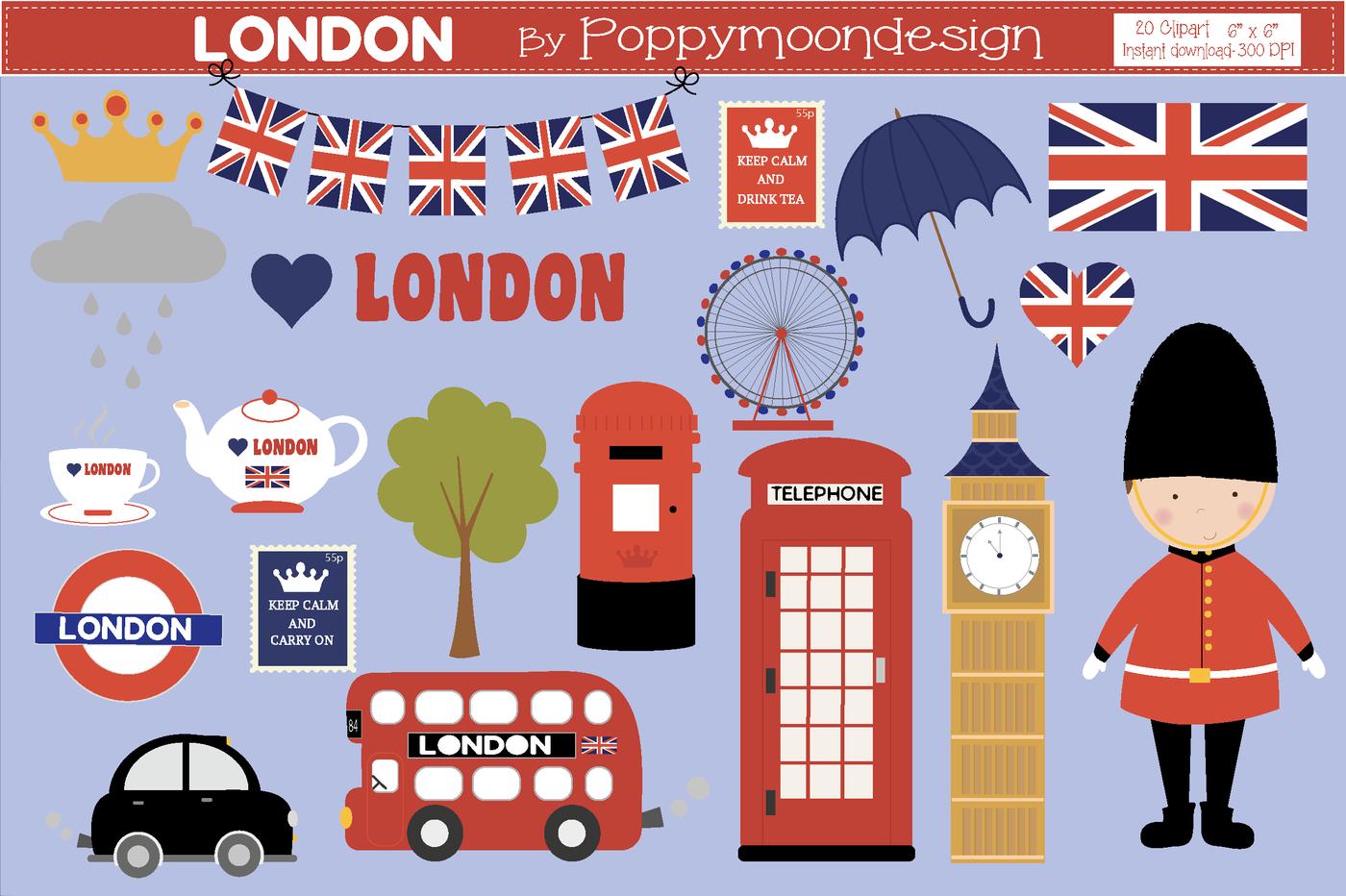 London Clipart-Clipartlook.com-1400