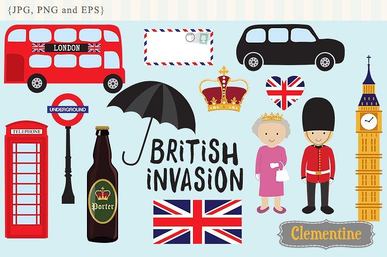 London Clipart-Clipartlook.com-770
