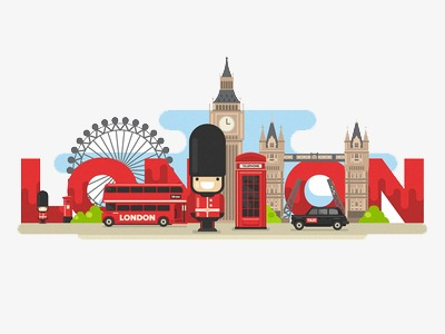 london, Building, Cartoon PNG Image and Clipart