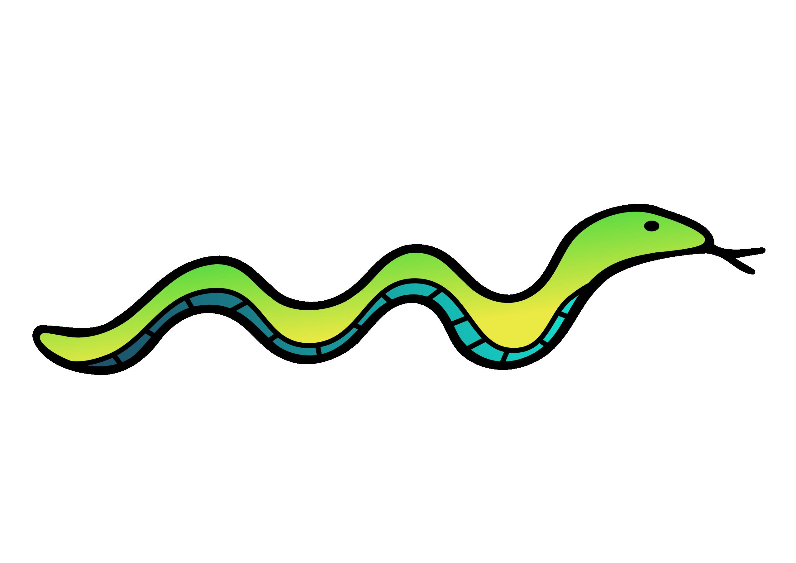 Long Snake Clipart-Long Snake Clipart-8