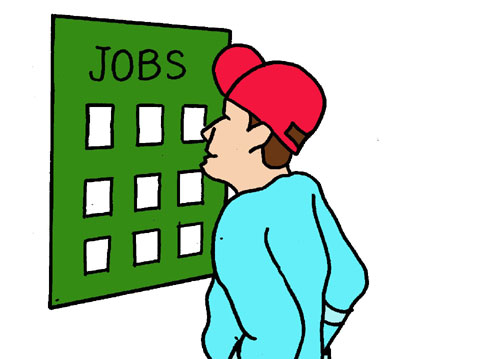 Looking for a Job Clip Art - Job Clip Art