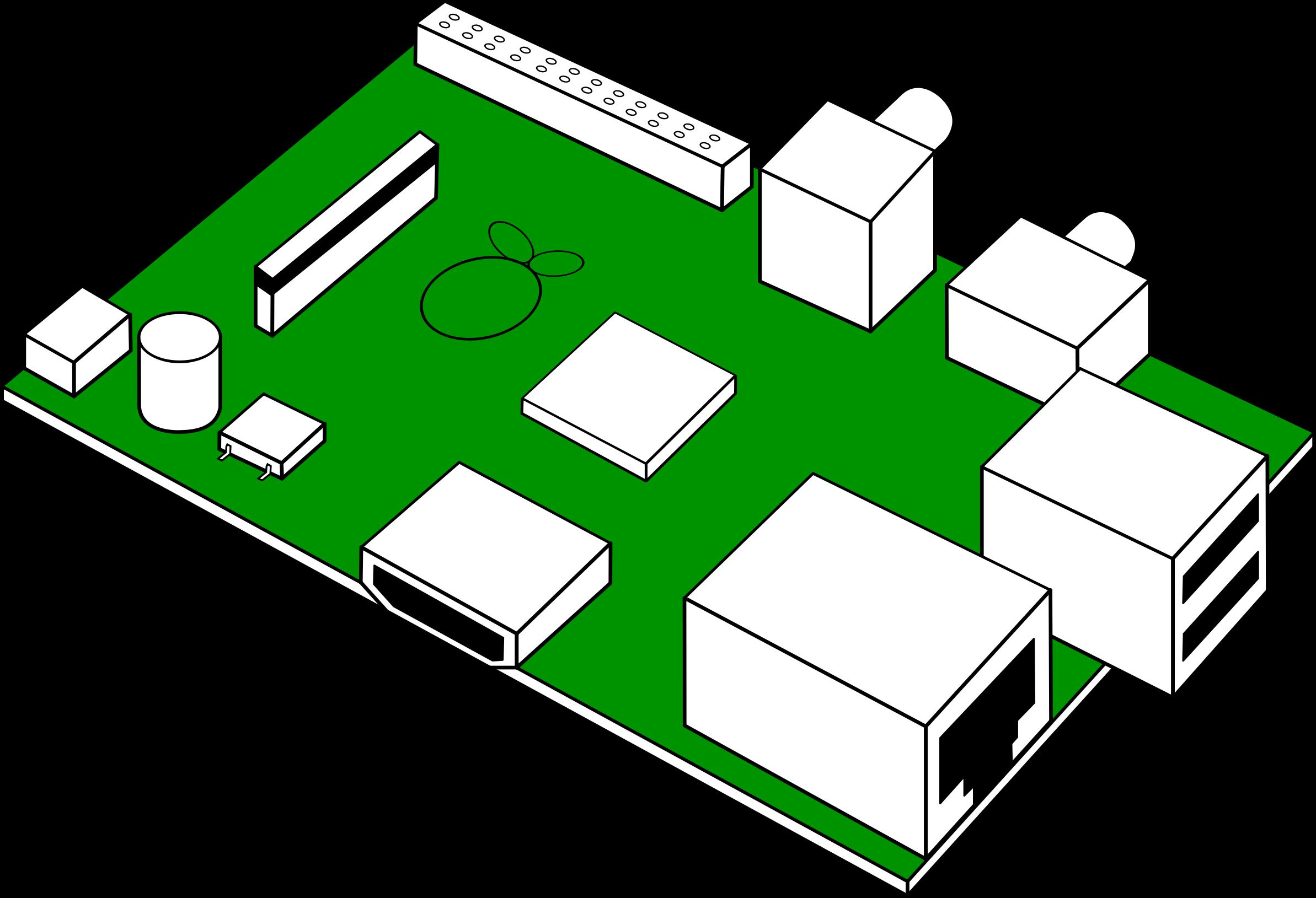Looks Like Raspberry Pi Printed Circuit Board