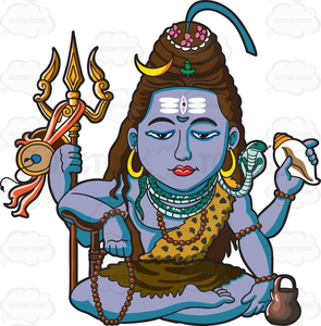 Clipart Of Lord Shiva Image