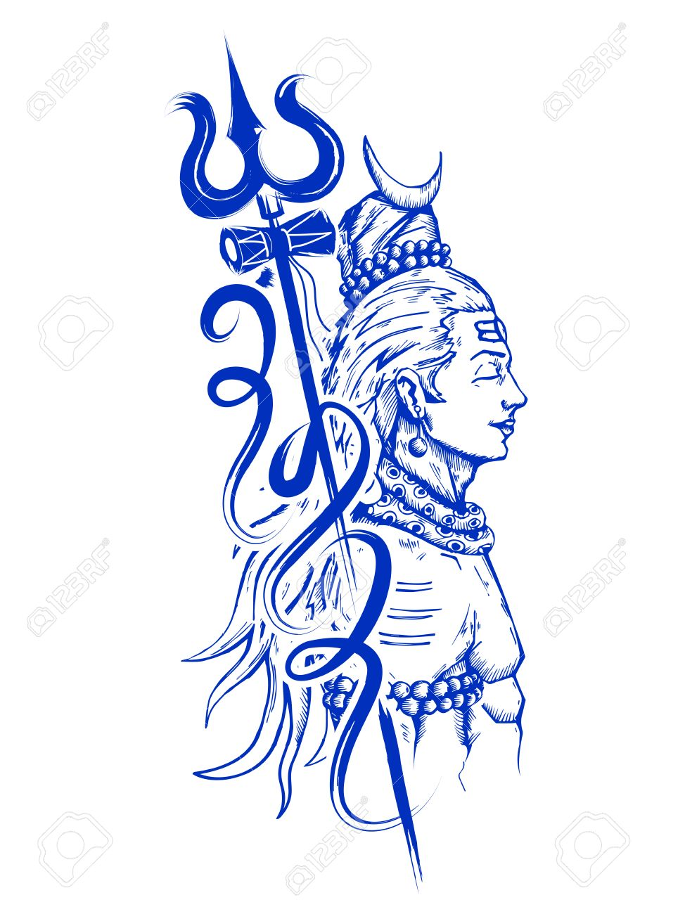 Lord Shiva, Indian God of Hin - Lord Shiva Clipart