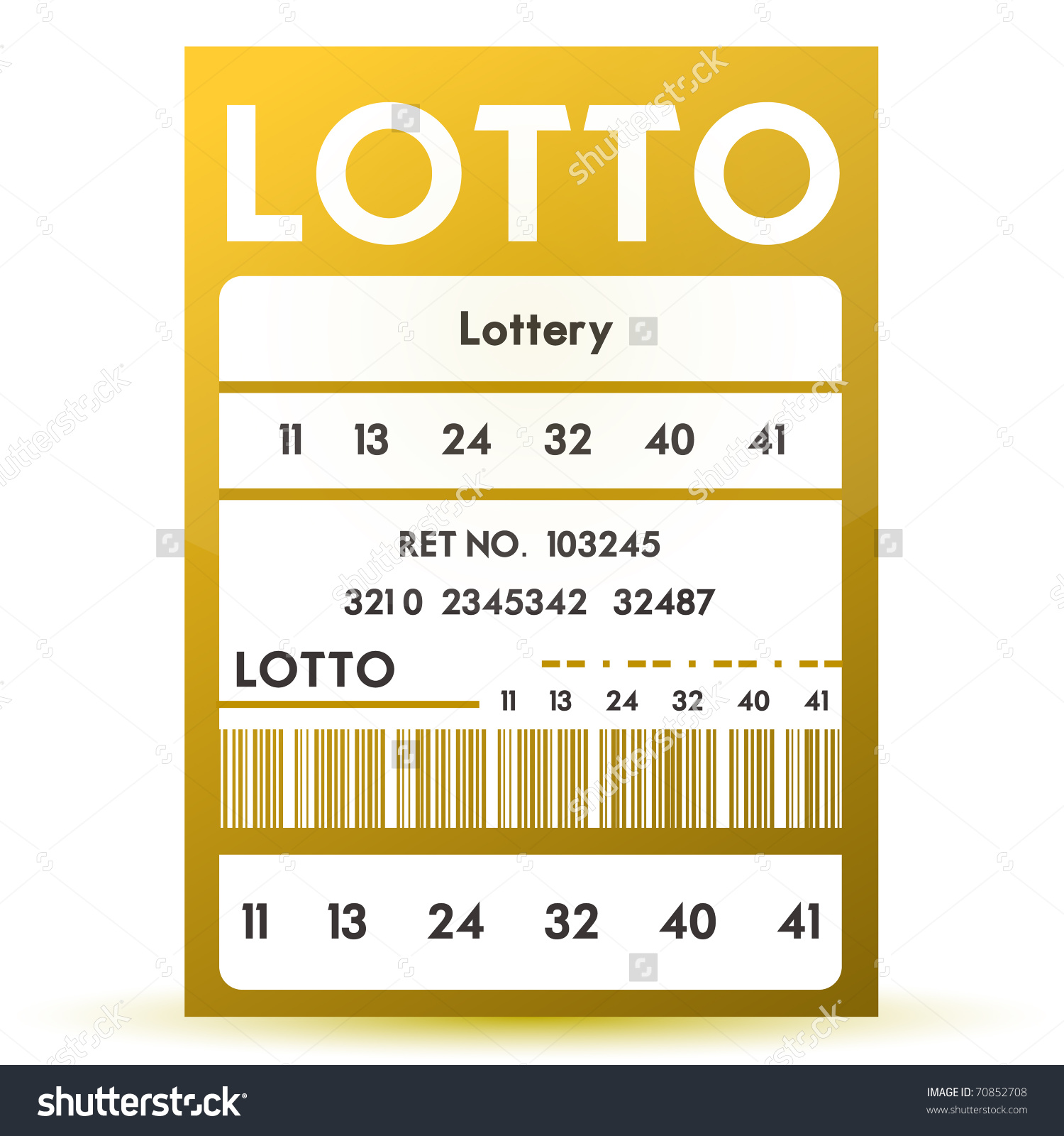 Lottery Ticket Clip Art
