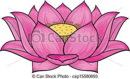 57 Lotus Clipart Clipartlook