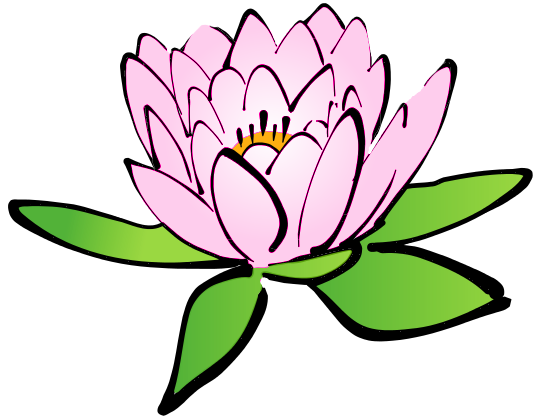 Lotus Flower Pink Clip Art ..