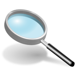loupe clipart 8