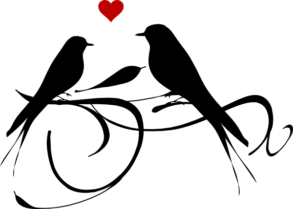 Love Birds Clipart-love birds clipart-7