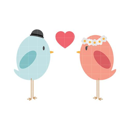 Love Birds Clipart-Clipartloo - Love Birds Clipart