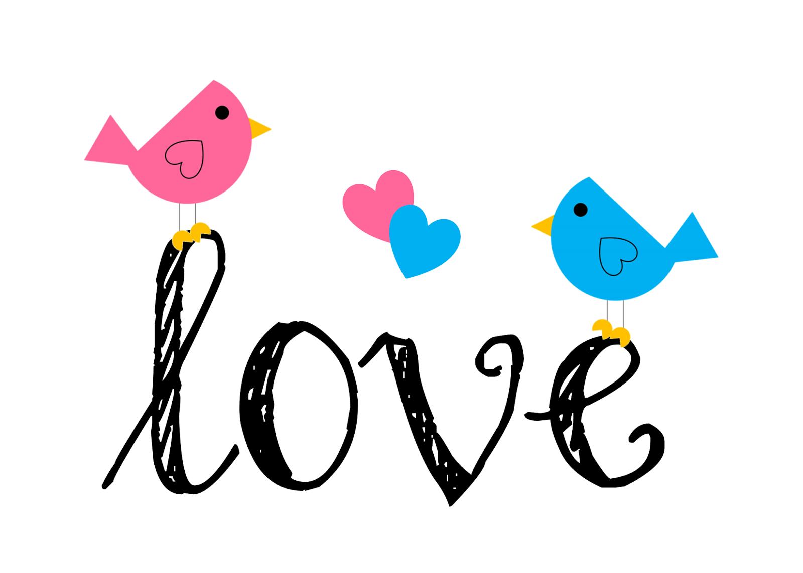 Purple Love Birds Clipart Cli