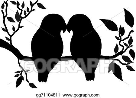 love birds - Love Birds Clipart