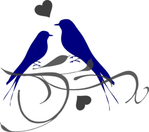 Love Birds Clip Art - Love Birds Clipart