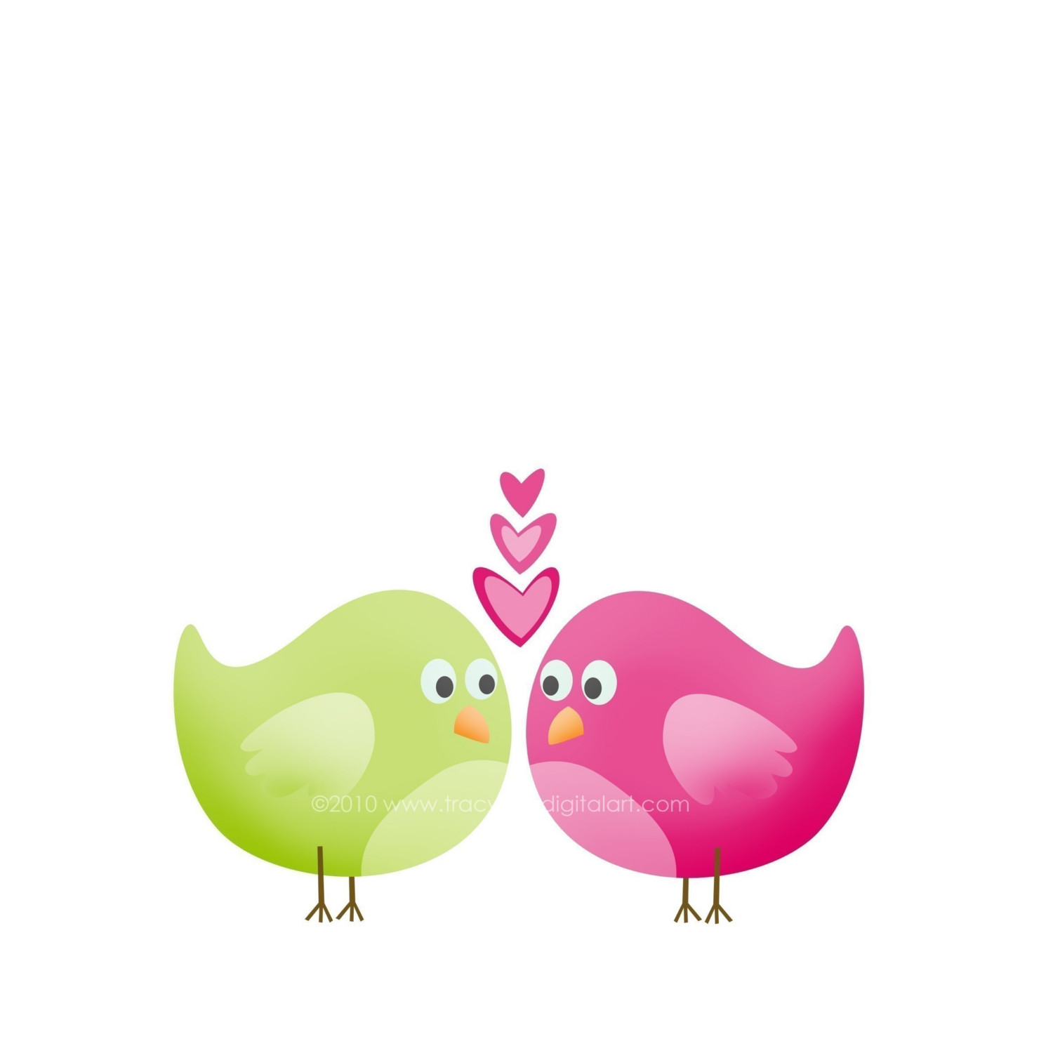 love birds clipart - Love Birds Clipart