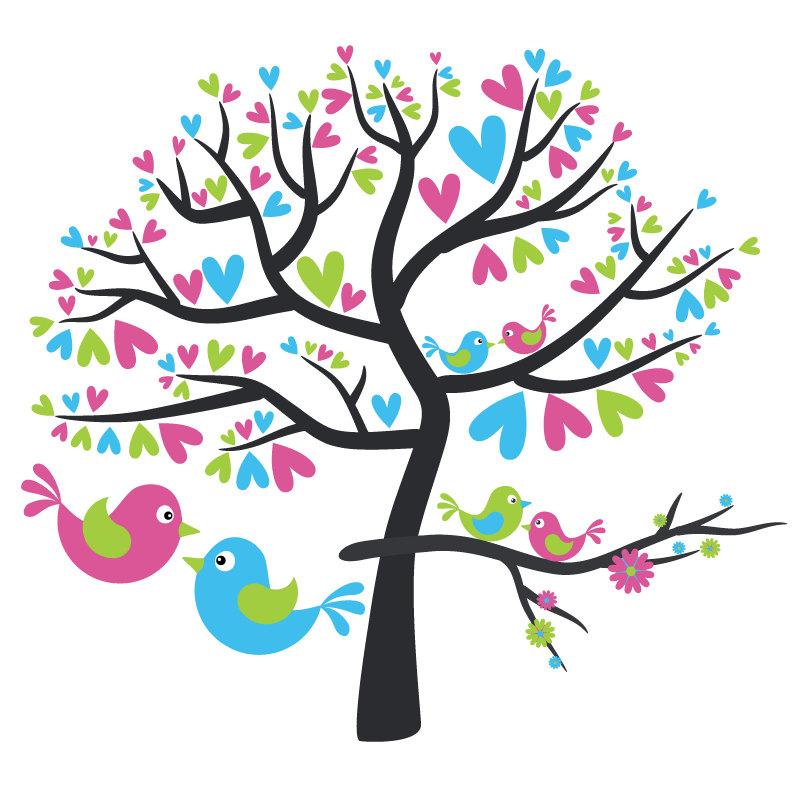 Love Birds In Tree Clipart-Love Birds In Tree Clipart-13
