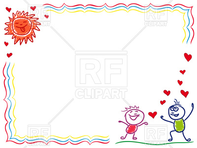 Boy and girl in love, frame, 98932, download royalty-free vector vector ClipartLook.com