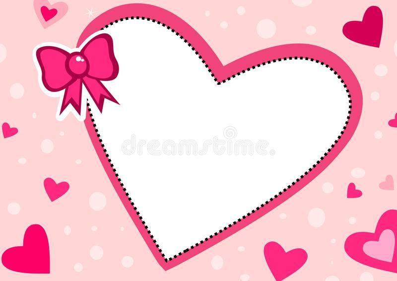 Download Love frame stock illustration. Illustration of cool, banner -  54427090