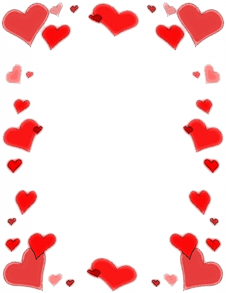 Heart Clipart Frames Clipart Collection | Heart Frame Made Of Inside  Picture Frames With Hearts