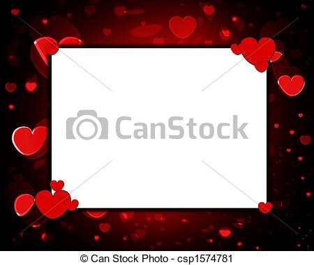 Love Frame - csp1574781 - Love Frame Clipart