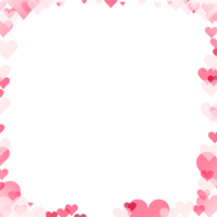 Love Frame Transparent Picture PNG Image