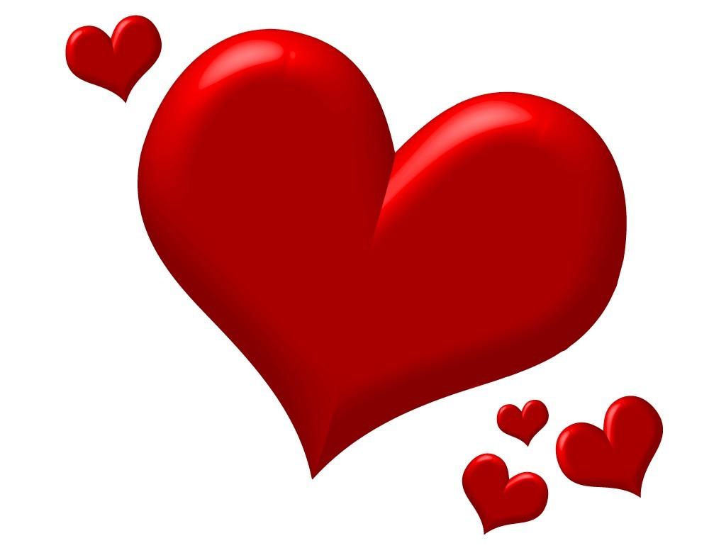 Love Hearts Clip Art u0026mid - Love Heart Clipart