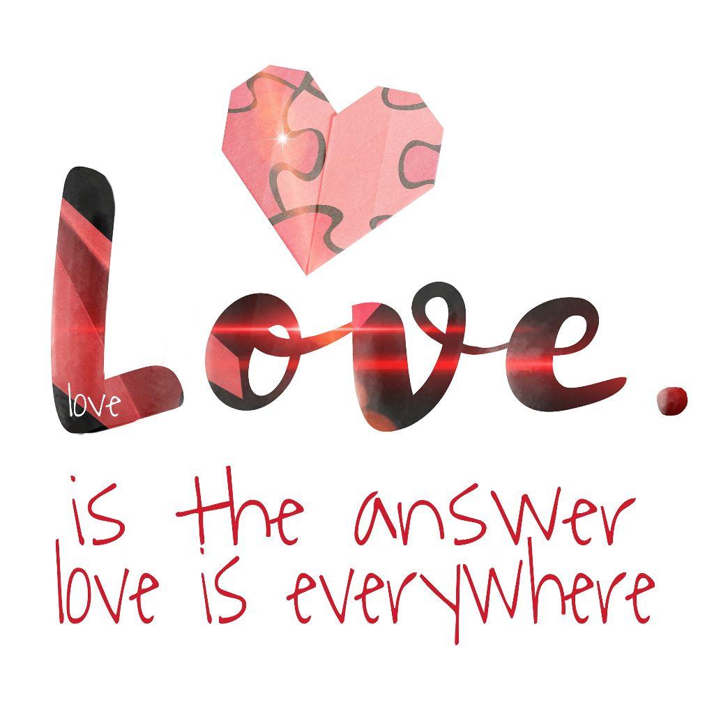 FreeToEdit love texts clipart original picsart edit.