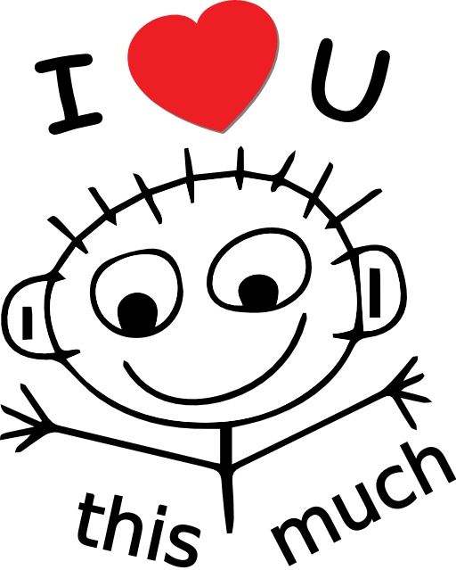 Love You This Much Clipart Royalty Free -Love You This Much Clipart Royalty Free Public Domain Clipart-6