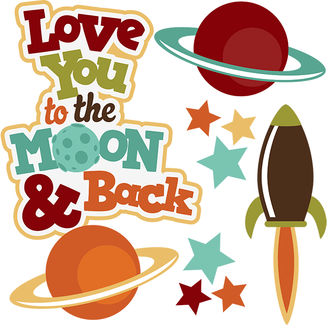Love You To The Moon u0026amp; Back .