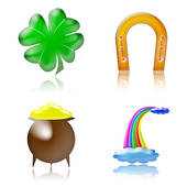 Lucky Symbols Clipart