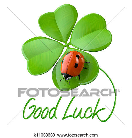 Stock Illustration - Lucky symbols. Fotosearch - Search Clipart,  Illustration Posters, Drawings and