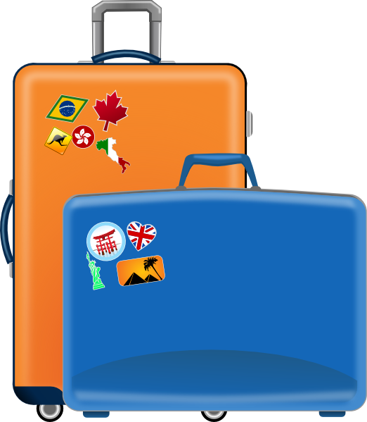 Luggage Clip Art At Clker Clipartlook.co-Luggage Clip Art at Clker clipartlook.com - vector clip art online, royalty free u0026  public domain-7