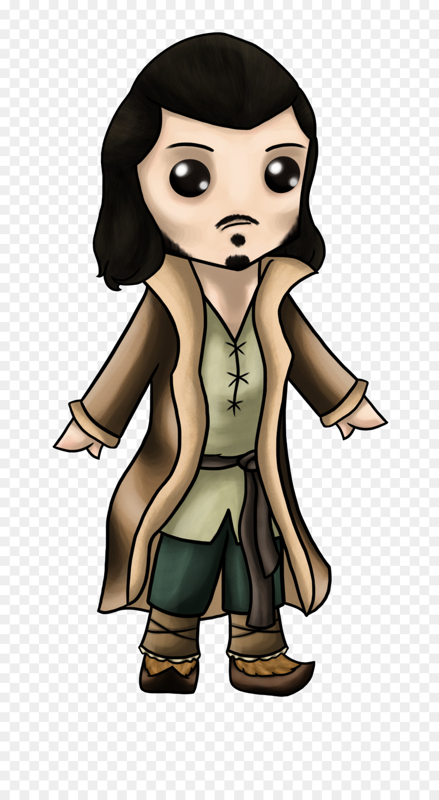 Female Black hair Cartoon - luke evans