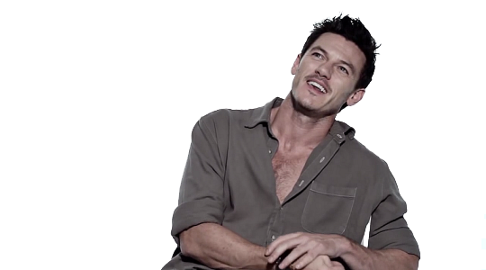 Luke Evans PNG Photos