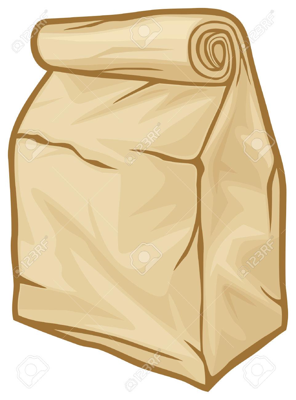 lunch bag: paper bag lunch bag