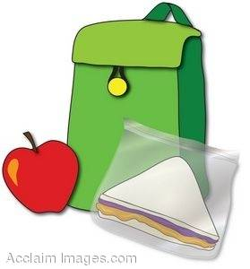 Lunch Sack Clip Art Clipart .