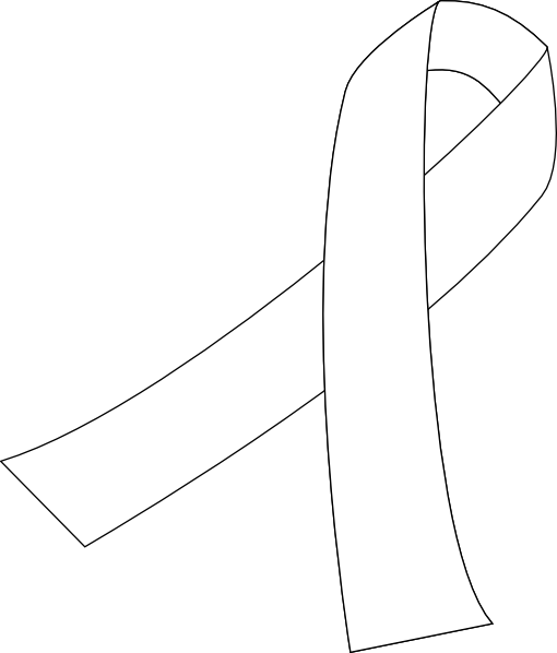 Lung Cancer Ribbon Clip Art-Lung Cancer Ribbon Clip Art-1