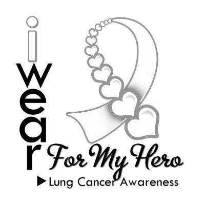 Lung Cancer Ribbon Clip Art | - Lung Cancer Ribbon Clip Art
