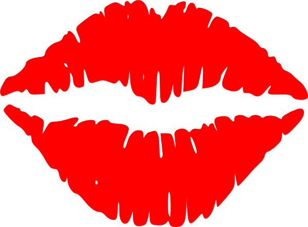 Lustful Lips Clip Art At Clker Com Vector Clip Art Online Royalty