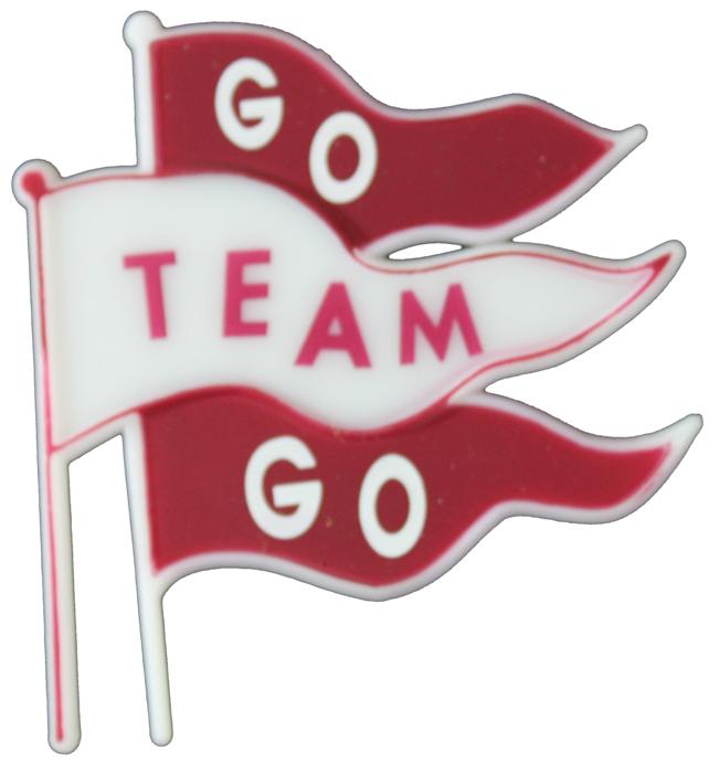 Ma5725 2 1 2 Go Team Go Triple Flag Char-Ma5725 2 1 2 Go Team Go Triple Flag Charm-15