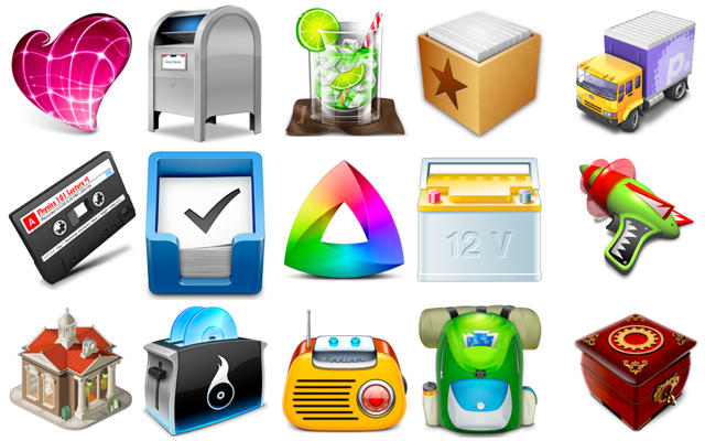 15 Of Our Favorite Mac OS X App Icons In 2010 [Year in Review]