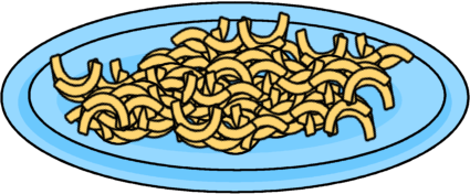 Macaroni And Cheese Clip Art Image Of A Plate Of Macaroni And Cheese
